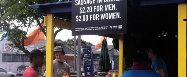 YWCA - demand equal pay- cause related advertising
